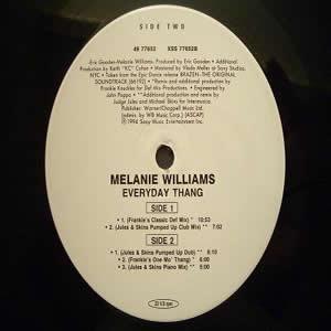 MELANIE WILLIAMS - EVERYDAY THANG