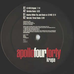 APOLLO FOUR FORTY - KRUPA