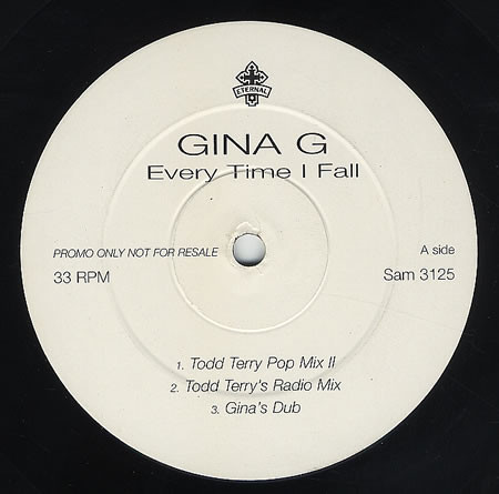 Gina G - Every Time I Fall