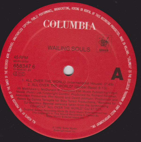 Wailing Souls - All Over The World