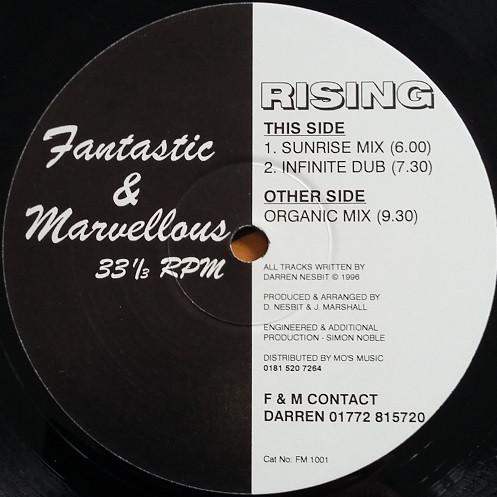 Fantastic & Marvellous - Rising