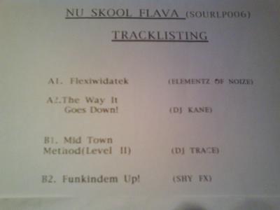 Various - Nu Skool Flava - Plate 1