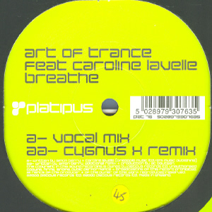 ART OF TRANCE - BREATHE (REMIXES)