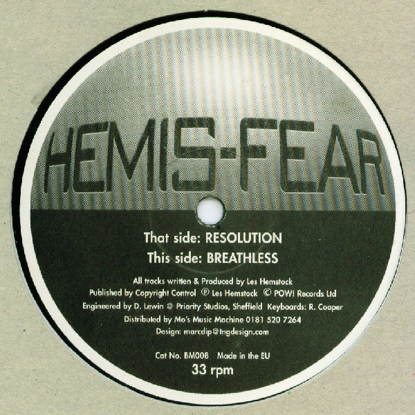 HEMIS-FEAR - RESOLUTION / BREATHLESS