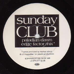 SUNDAY CLUB - HEALING DREAM / PALADIAN DAWN