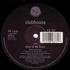 CLUBHOUSE - DEEP IN MY HEART