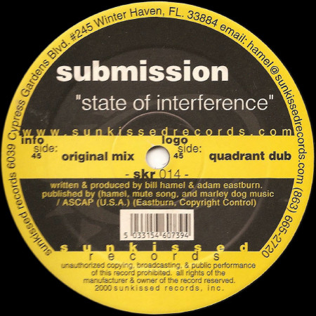 SUBMISSION - STATE OF INTERFERENCE