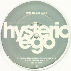 HYSTERIC EGO - Time To Get Back