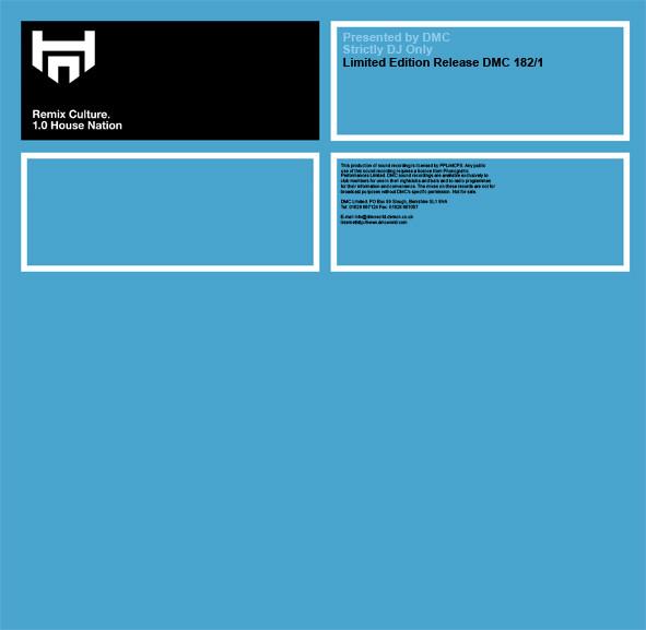 Various - Remix Culture - 1.0 House Nation
