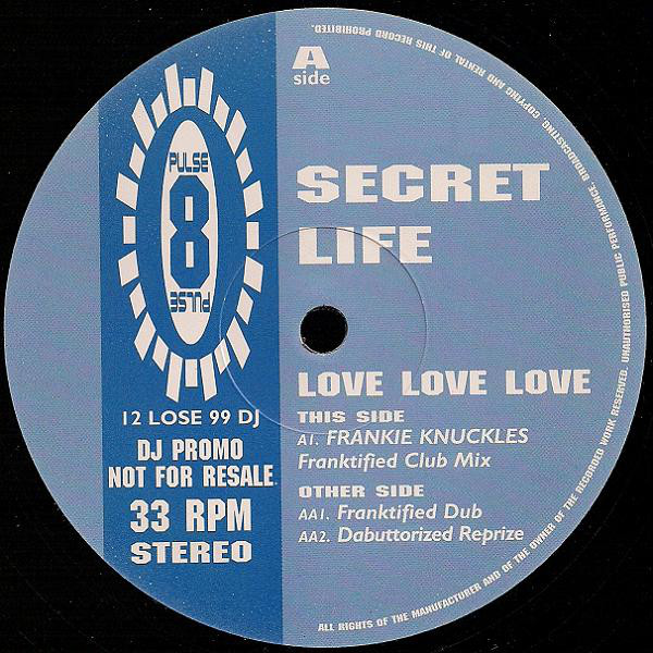 SECRET LIFE - LOVE LOVE LOVE