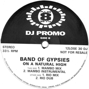 Band Of Gypsies - On A Natural High