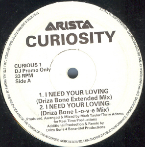 Curiosity - I Need Your Loving