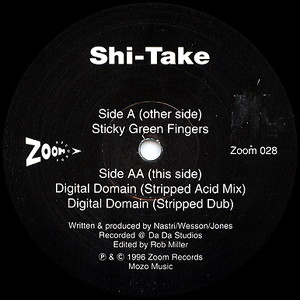 Shi-Take - Sticky Green Fingers / Digital Domain