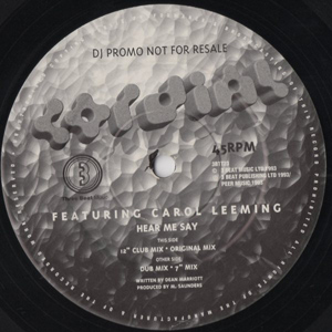 Cordial Featuring Carol Leeming - Hear Me Say