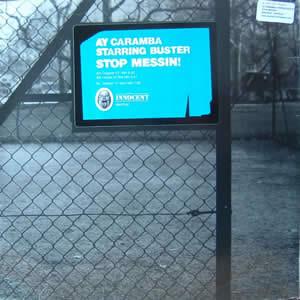AY CARAMBA STARRING BUSTER - STOP MESSIN!