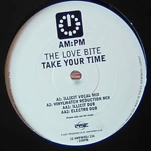 THE LOVE BITE - TAKE YOUR TIME (PROMO)
