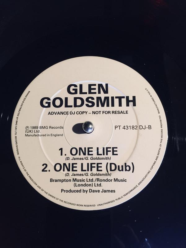 GLEN GOLDSMITH - One Life