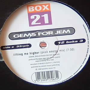 GEMS FOR JEM - LIFTING ME HIGHER