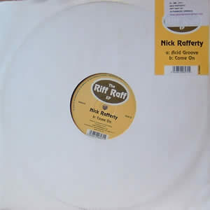 NICK RAFFERTY - THE RIFF RAFF EP