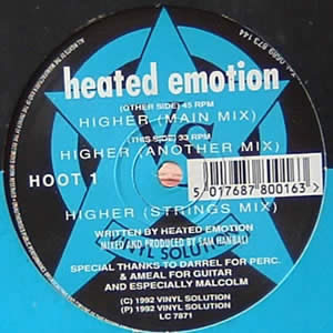 HEATED EMOTION - HIGHER