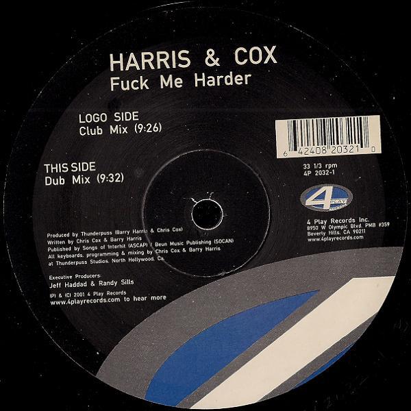 HARRIS & COX - FUCK ME HARDER