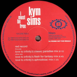 KYM SIMS - I MUST BE FREE (DOUBLE)