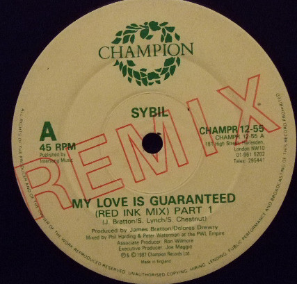 SYBIL - MY LOVE IS GUARANTEED (REMIX)