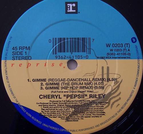 Cheryl Pepsii Riley - Gimme