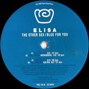 Elisa - The Other Sex / Blue For You