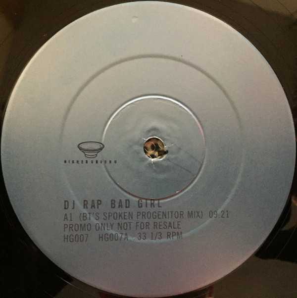 DJ Rap - Bad Girl (BT Remixes)