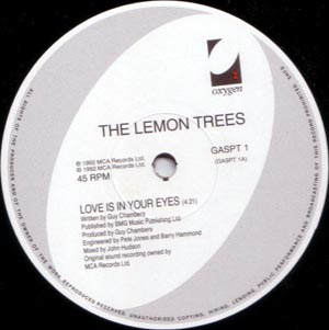 Lemon Trees, The - Love Is In Your Eyes