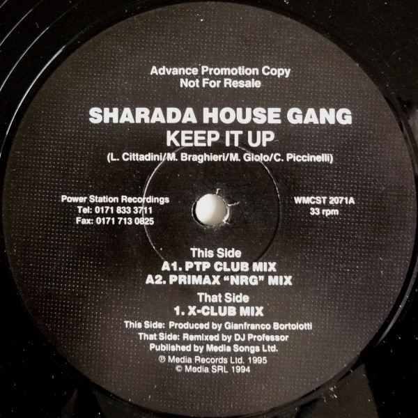 SHARADA HOUSE GANG - KEEP IT UP