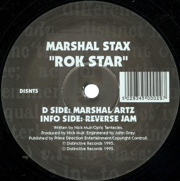 MARSHAL STAX - ROK STAR