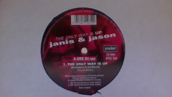 Janis & Jason - The Only Way Is Up