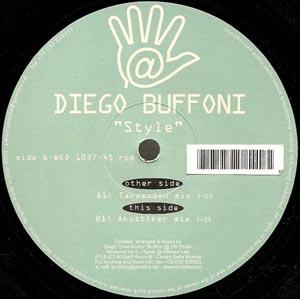 Diego Buffoni - Style