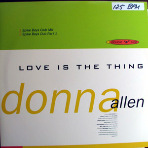 Donna Allen / MSM (Miami Sound Machine) - Love Is The Thing / Jambala