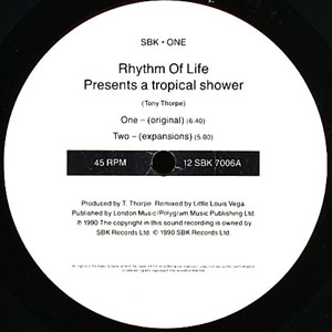 Rhythm Of Life - A Tropical Shower