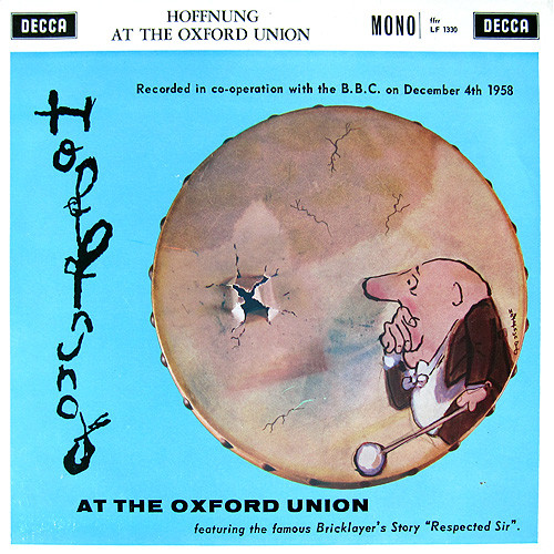 Gerard Hoffnung - Hoffnung At The Oxford Union